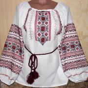 """Женская вышиванка """"Гранат"""" купить"""