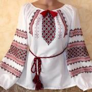 """Жіноча вишиванка """"Багряна"""" придбати"""
