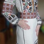 ФотоВиноградное платье вышиванка