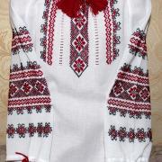 """Жіноча вишиванка  """"Червоні орнаменти"""" 2 придбати"""