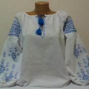 """Женская вышиванка """" Голубая нить"""" купить"""