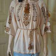 Женская вышитая рубашка Невесомость купить