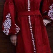 """Женское вышитое платье """" Княгиня"""" купить"""