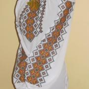 Вышитая блузка Осенний перезвон фото