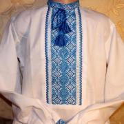 """Украинская вышиванка  на мальчика """" Небо"""" купить"""