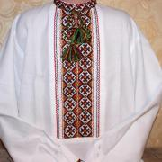 """Украинская вышиванка  на мальчика """" Узоры"""" купить"""