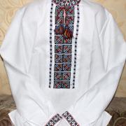 """Украинская вышиванка  на мальчика """" Геометрические узоры"""" купить"""