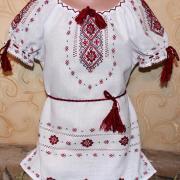 """Детское вышитое платье """" Два цвета"""" купить"""