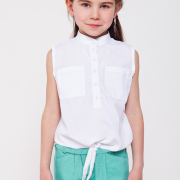 Детские шорты мятного цвета фото