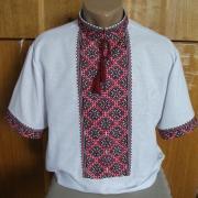 Мужская сорочка вышиванка летняя купить Киев