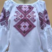 """Женская вышиванка с геометрическим орнаментом """"Майя"""" купить"""