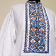 Мужская вышиванка с тризубами купить Киев