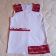 Платье вышиванка на девочку купить