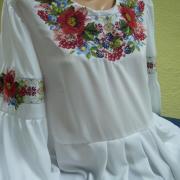 Женская вышиванка Луг фото