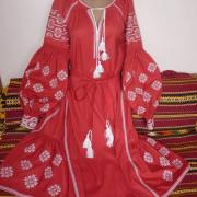 """Красное женское платье """"Роксолана"""" фото"""