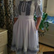 """Жіноча сукня вишиванка """"Мереживний стиль"""" фото"""