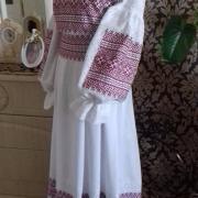 """Женское платье вышиванка """"Магия красного"""" фото"""