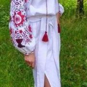 """Жіноча вишита сукня """"Україночка"""" придбати"""