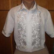 Классическая мужская вышиванка фото