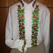Мужская  украинская вышиванка фото