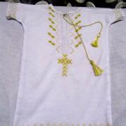 Вишита сорочечка для хрещення