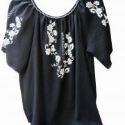 Чорна жіноча блузка купити