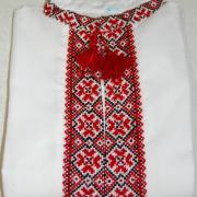 Украинская вышиванка подростковая на мальчика 10-12 лет
