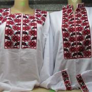 Красивые украинские вышиванки для семейной пары купить Киев