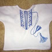 Распашонка с вышивкой для детей