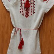 Вишите дитяче плаття ручної вишивки фото