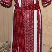 """Жіноча вишита сукня """"Українські мотиви"""" купити"""