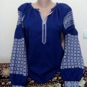 """Женская вышиванка """"Идилия в синем"""" купить"""