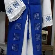 """Женское вышитое платье """" Магия кружева"""" купить"""