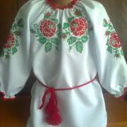 "Дитяча вишита сукня "" Троянда"" купити"