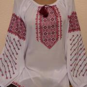 Купить блузку из шифона с вышивкой