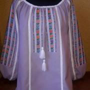 """Женская вышиванка """"Фиолетовая нежность"""" купить"""