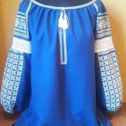 """Женская вышиванка """" Голубая мечта"""" купить"""