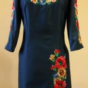 """Вышитое платье """"Цветы полей"""" купить"""