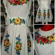 """Вишита сукня """" Квіткове поле"""" купити"""