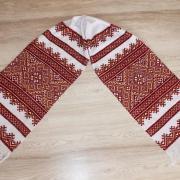 Вышитый свадебный рушник ручной работы купитьВ