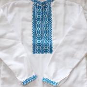 Детская вышитая рубашка для мальчика  фото