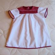 Украинское вышитое платье купить
