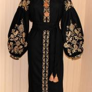 Женское вышитое платье Мировое дерево купить