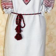 """Жіноча вишита сукня """" Українські мотиви"""" купити"""