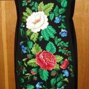 """Жіноча вишита сукня """" Квітучі піони"""" купити"""