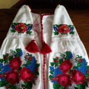 """Жіноча вишита сукня """"Букет квітів"""" придбати"""