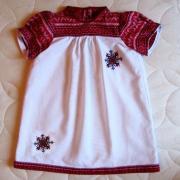 Эксклюзивное украинское платье для девочки
