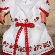Платье вышиванка с бантиком на девочку фото
