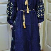 """Женское платье вышиванка в стиле бохо """"Изящность"""" фото Крестик"""