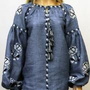 Бохо блузка с розами фото
